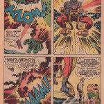 "Jack Kirby og Mike Royer, fra ""The Glory Boat"", New Gods #6 (1971)"