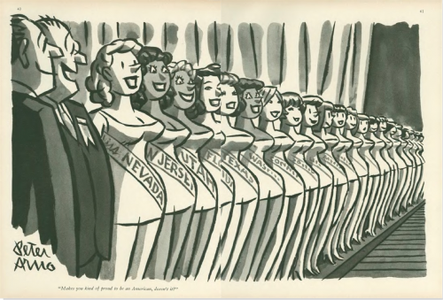 "Peter Arno, ""Makes you kind of proud to be an American, doesn't it?"", September 10, 1960"