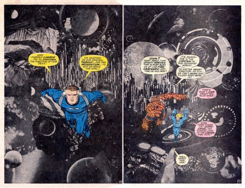 Jack Kirby, Joe Sinnott, and Stan Lee, from Fantastic Four Annual #6 (1963)