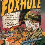 Jack Kirby, forside til Foxhole #1 (1954)