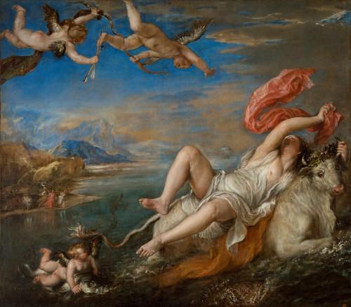 Titian, The Rape of Europa, 1559-62, Boston, Isabella Stewart Gardner Museum