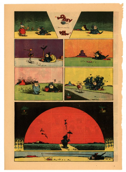 Krazy Kat Sunday page 6 October, 1940