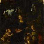 Leonardo da Vinci, The Virgin of the Rocks, 1483-85, oil on panel, 199 x 122 cm., Musée du Louvre, Paris