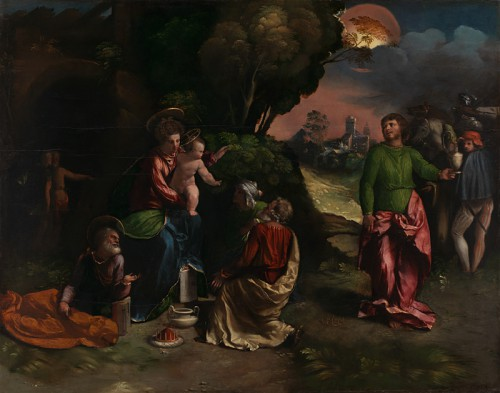 Dosso Dossi, The Adoration of the Kings, about 1527-9, London, The National Gallery