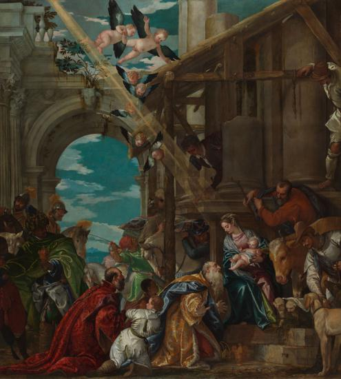 Paolo Veronese, The Adoration of the Kings, 1573, London, National Gallery