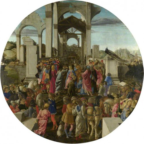 Botticelli, Sandro, 1444/1445-1510; The Adoration of the Kings
