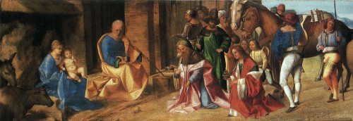 Giorgione, The Adoration of the Kings, 1506-7, London, National Gallery