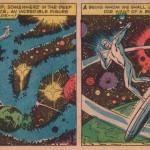 "Jack Kirby, Joe Sinott og Stan Lee, fra ""The Coming of Galactus!"", Fantastic Four #48 (1965)"
