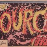 "Jack Kirby og Mike Royer, fra ""The Pact"", New Gods #7 (1971)"