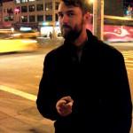 Cav på Manhattans Lower East Side, 2011.