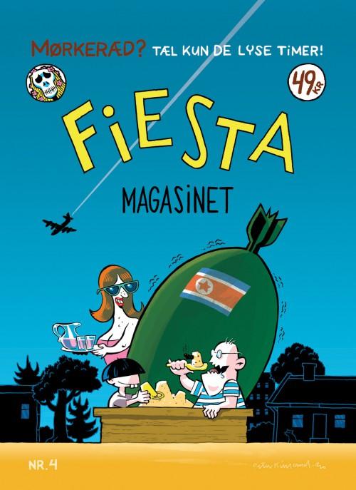 Forside til Fiesta nr. 4 af Peter Kielland
