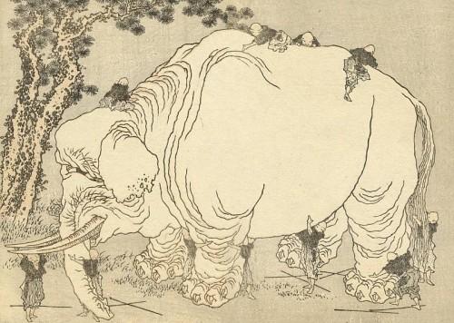 hokusai_elephant