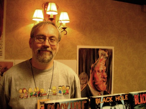 Photo taken by the author at SPX in 2004
