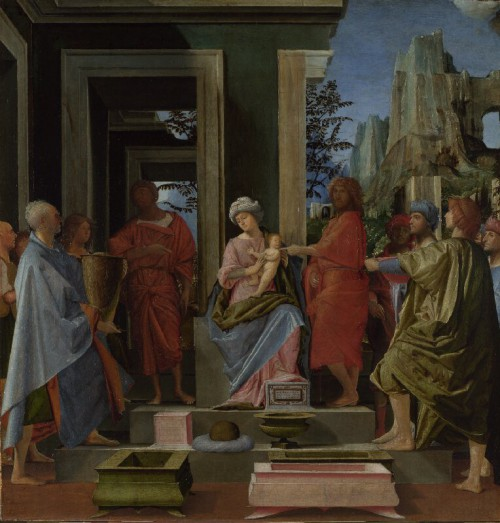 Bramantino, The Adoration of the Kings, about 1500, London, The National Gallery