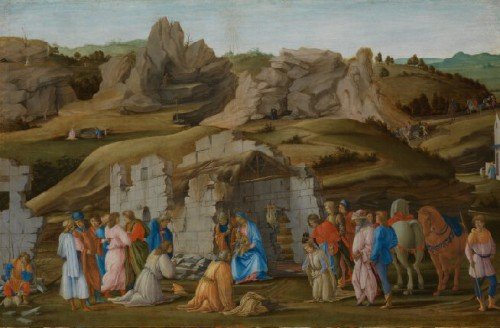 Filippino Lippi, The Adoration of the Kings, about 1480, The National Gallery