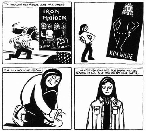Comics Of The Decade Marjane Satrapi S Persepolis The Metabunker