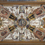 Antonio Tempesta, loftsudsmykning fra Uffizi-galleriet i Firenze, 1579-81.
